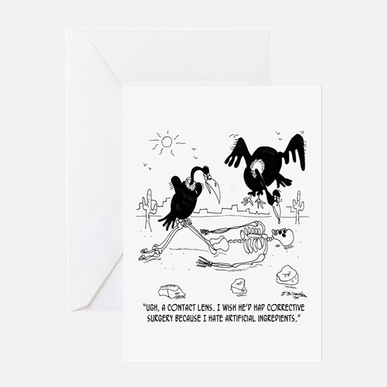 I Hate Artificial Ingredients Greeting Card