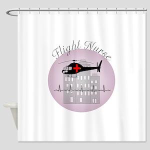 Flight Nurse Shower Curtain