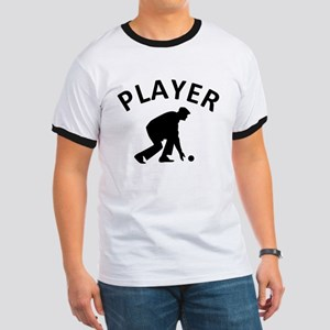 Lawn Bowling Player Ringer T