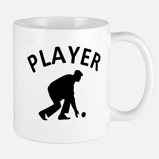 Lawn Bowling Player Mug