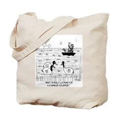 Kamikaze Duck Volunteer Tote Bag