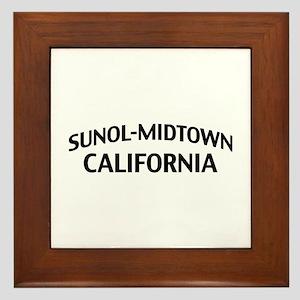 Sunol-Midtown California Framed Tile