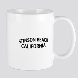Stinson Beach California Mug