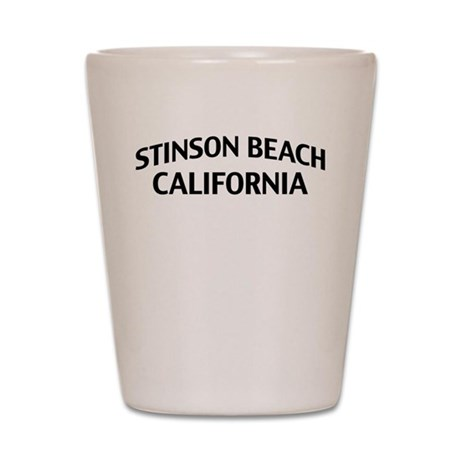 Stinson Beach California Shot Glass