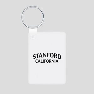 Stanford California Aluminum Photo Keychain