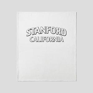 Stanford California Throw Blanket