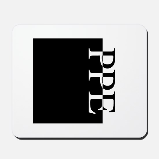 PPE Typography Mousepad