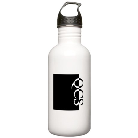 QCS Typography Stainless Water Bottle 1.0L