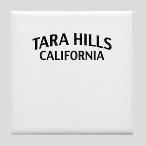 Tara Hills California Tile Coaster