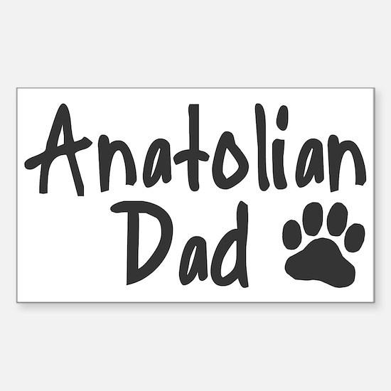 Anatolian DAD Sticker (Rectangle)