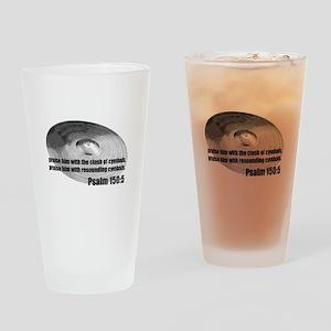 Psalm 150:5 - Christian Drumm Drinking Glass