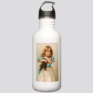 """Victorian Girl"" Stainless Water Bottle 1.0L"