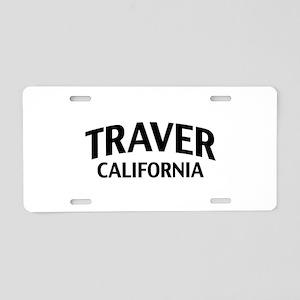 Traver California Aluminum License Plate