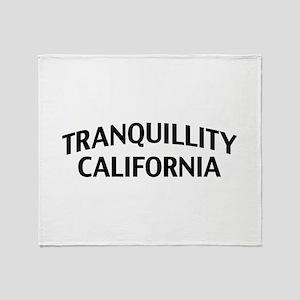 Tranquillity California Throw Blanket