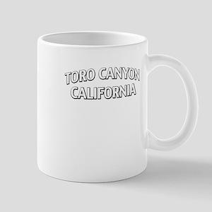 Toro Canyon California Mug