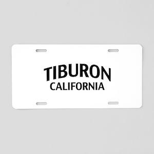 Tiburon California Aluminum License Plate