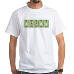 Chemistry Boobs White T-Shirt