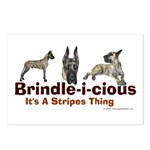 Brindle-i-cious 3 It's a Stri Postcards (Package o