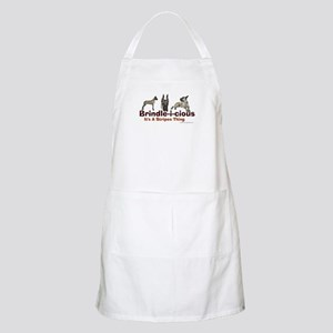 Brindle-i-cious 3 It's a Stri BBQ Apron