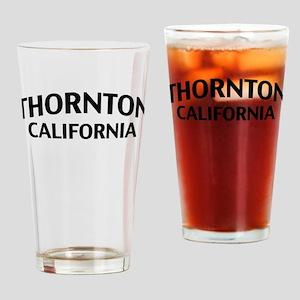 Thornton California Drinking Glass