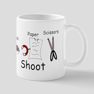 Rock Paper Scissors! Paper Wi Mug
