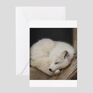 Sleeping corner Greeting Cards