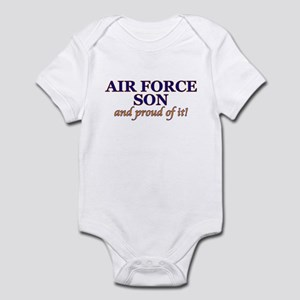 AF Son & proud of it! Infant Creeper