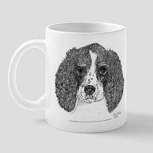Spaniel Pen & Ink 11oz Ceramic Mug (w)