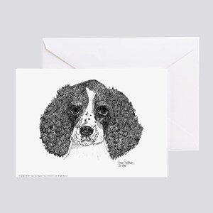 Spaniel Pen & Ink Greeting Cards (10pk)