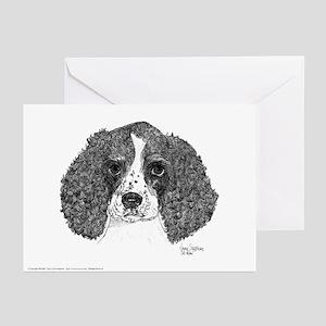 Spaniel Pen & Ink Greeting Cards (10pk)