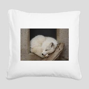 Sleeping corner Square Canvas Pillow
