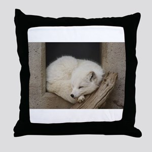 Sleeping corner Throw Pillow