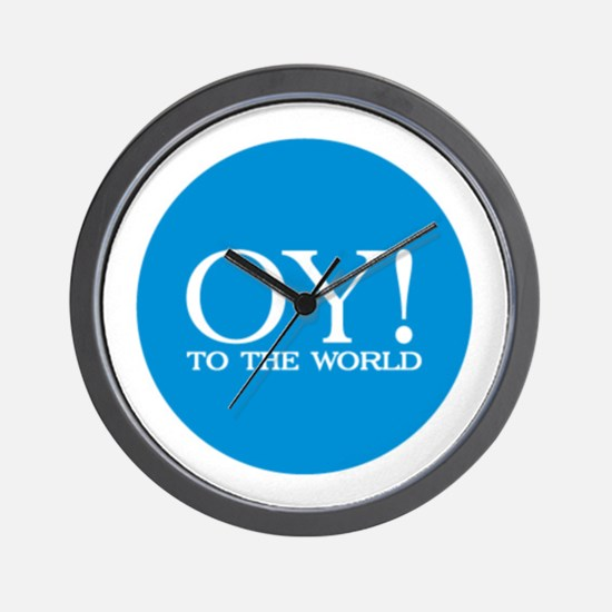 Oy! to the World Products Wall Clock