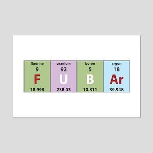 Chemistry Fubar Mini Poster Print