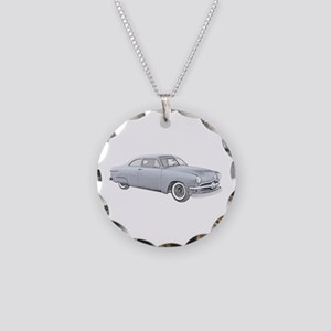 1950 Ford Coupe Necklace Circle Charm