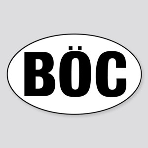 BOC Sticker (Oval)