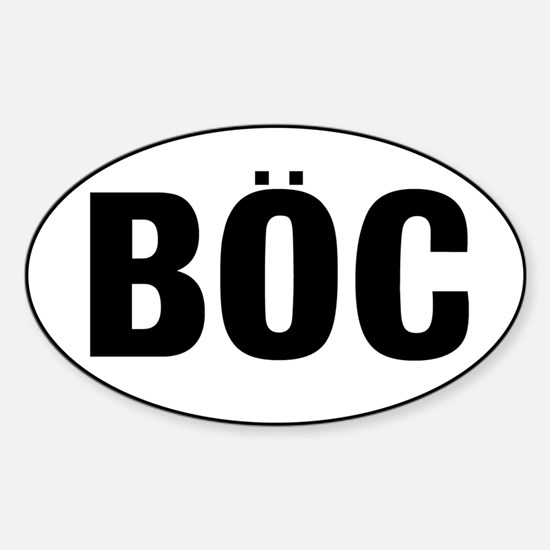 BOC Sticker (Oval)