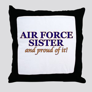 AF Sister & proud of it! Throw Pillow
