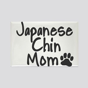 Japanese Chin MOM Rectangle Magnet
