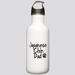 Japanese Chin DAD Stainless Water Bottle 1.0L