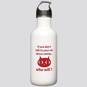 Catnip Stainless Water Bottle 1.0L