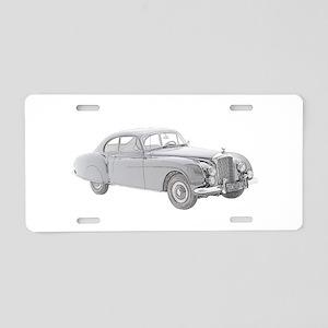 1954 Bentley Continental Aluminum License Plate