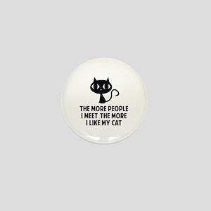 People I Meet Mini Button