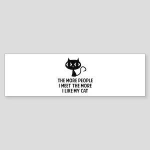 People I Meet Sticker (Bumper)