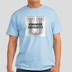 Komondor UNIVERSITY Light T-Shirt