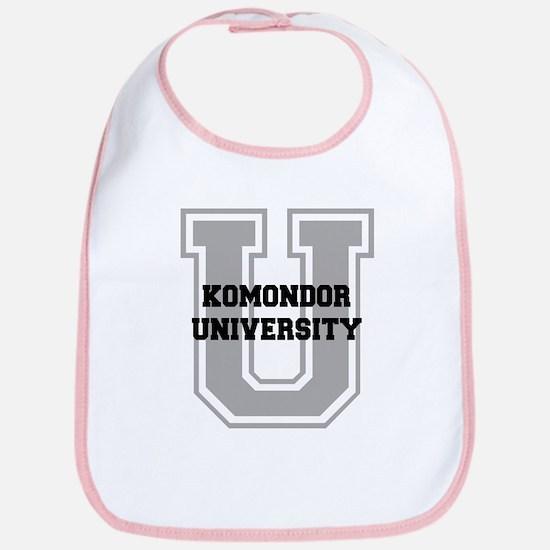 Komondor UNIVERSITY Bib