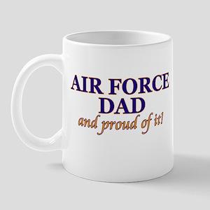 AF Dad & proud of it! Mug