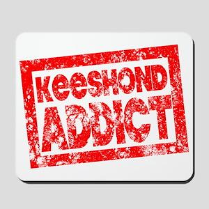 Keeshond ADDICT Mousepad