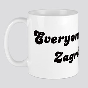 Loves Zagreb Girl Mug