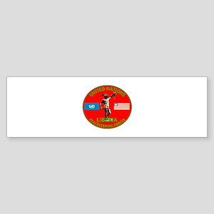 UN Liberia Bumper Sticker